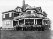 Borough Park Club, 13th Avenue between 50th and 51st Streets, 1900