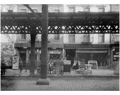 Bowery - between Hester & Canal Streets  1915