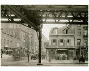 Bowery East Side - at 4th Street 1915