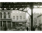 Bowery - east side - at Hester Street 1915