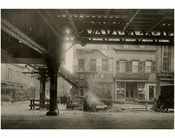 Bowery - east side - at Houston Street 1915