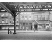 Bowery - east side - between 1st & 2nd Street  1915