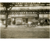 Bowery - east side - between 1st Street & Houston 1915