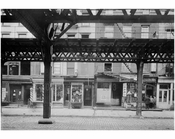 Bowery - East Side - between 3rd & 4th Streets 1915