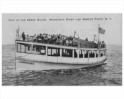 Breezy Point Ferry Commander Boat Rockaway Point 1935