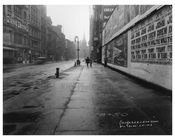 Broadway in the rain - Tribeca - Downtown Manhattan NYC 1913