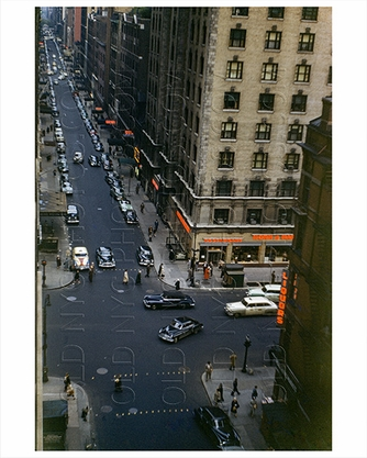 Broadway near Times Square 1954
