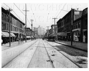Wythe Ave looking north west circa 1913