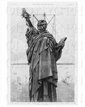 Statue of Liberty unveiling poster
