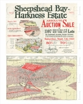 Sheepshead Bay Auction Sale poster combo
