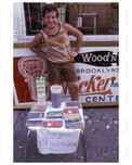 Child with a drink stand 1980's