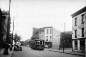 Division Ave trolley east from Havemeyer St 1940s