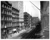 Broadway & White Street - Aerial View - Tribeca - Downtown Manhattan NYC 1913