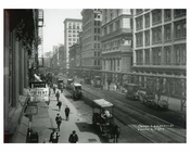 Broadway & Worth Street - Aerial View - Tribeca - Downtown Manhattan NYC 1913