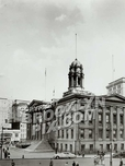 Brooklyn Borough Hall from Court and Remsen Street, 1940s