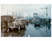 Brooklyn Bridge Cars 1973