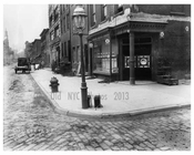 Broome Street 1916 - looking north -  this corner is in Soho but runs through Little Italy aswell