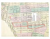 Brownsville Map 1870s