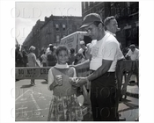 Brownsville Powell Street block party 1958