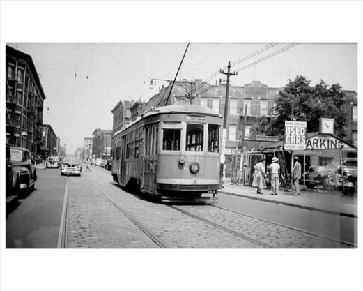 Brownsville trolley 1940s Brooklyn NY