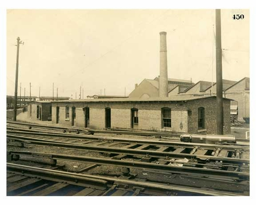 BRT 450 Oil House Car Cleaners & Lamp Room 37th Street & 5th Avenue top of incline