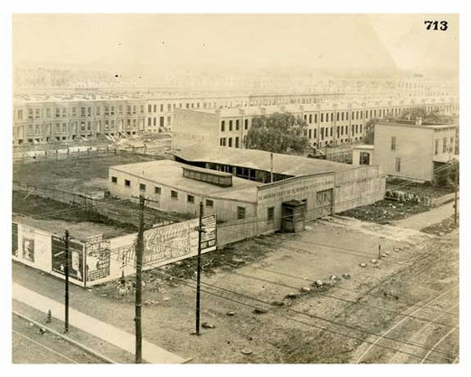 BRT 713 Frame Buildings & Stables South Side Malbone Street 40 feet west of Nostrand Ave Empire Blvd
