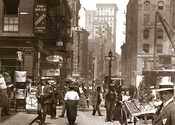 Canal St. west to mulberry & Walker Sts. Manhattan 1907