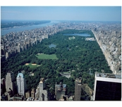 Central Park - Aerial view