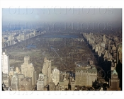Central Park Looking North 1950 NYC