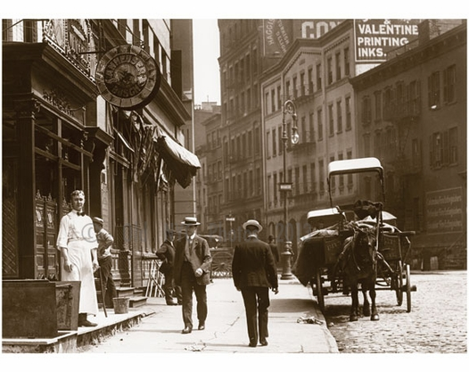 Centre St. north to Broome St. 1907