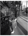 Child on Sidewalk, Brooklyn