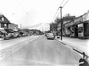 Church Avenue looking east from East 4th Street, 1949