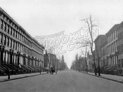Clermont Avenue, south from Willoughby Avenue to DeKalb Avenue, 1906