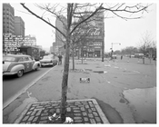 Columbus Circle looking at B & O Railroad Building 1957 - Upper West Side - Manhattan - New York, NY