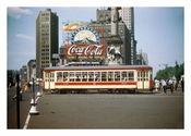 Columbus Circle - with Coca Cola Billboard