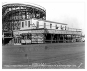Coney Island Boardwalk Construction