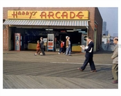 Coney Island boardwalk October 1953