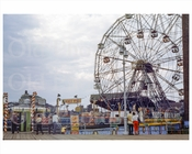 Coney Island Wonder Wheel 1954
