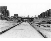 Construction of the Cross Bronx Expressway 1958