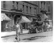 Construction workers on Lexington Avenue 1912 - Upper East Side Manhattan NYC