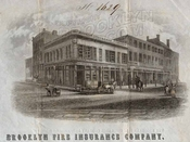 Corner of Fulton and Front Streets, 1845