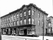Corner of Smith and Second Streets, 1928