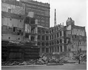 Court House at Center Street Wrecking 1958