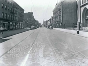 Court Street, south to Wyckoff Street, 1943