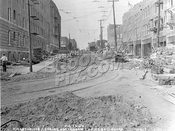 Crown Heights border at Kingston Avenue and Empire Boulevard, still called Pigtown in 1923