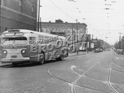 DeKalb Avenue looking south at Seneca Avenue, 1949
