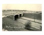 Ditmars Blvd. N.W. at Grand Central Parkway 1941 - East Elmhurst Queens NYC