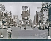 Duffy Square looking north, with Broadway and 7th Avenue, 1951