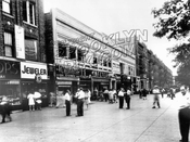 Durbrow's Cafeteria, Eastern Parkway off Utica Avenue, 1945
