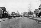 East 19th Street looking north from Avenue I toward LIRR cut, 1920s